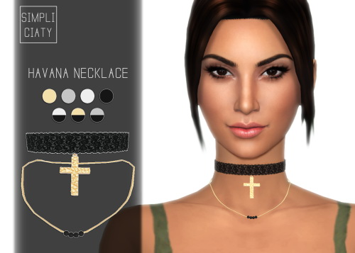 HAVANA NECKLACE at Simpliciaty image 202 Sims 4 Updates