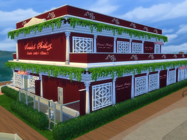 Sims 4 Esthers restaurant by sharon337 at TSR