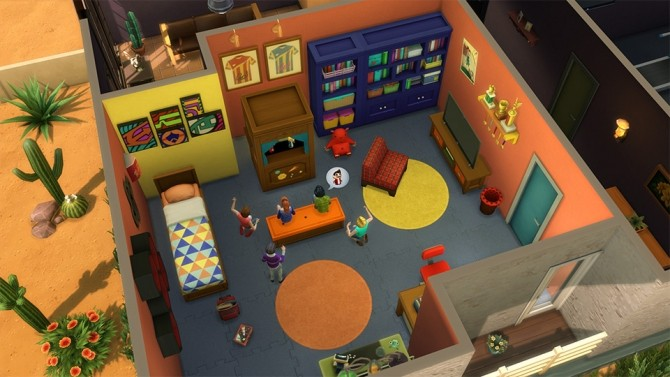 The Sims 4 Kids Room Stuff Tips to Creating Awesome Rooms image 20211 670x377 Sims 4 Updates