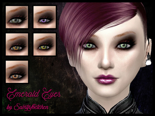 The Emerald Eyes by AnniSamtpfoetchen at TSR image 2030 Sims 4 Updates