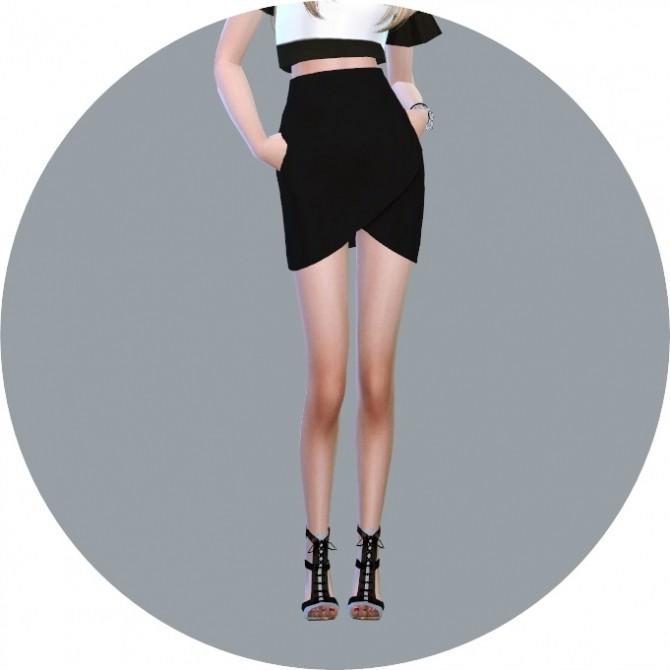 Sims 4 Tulip Skirt at Marigold