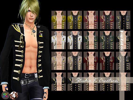 Sims 4 GIRUTO 7   2 way jacket at Studio K Creation