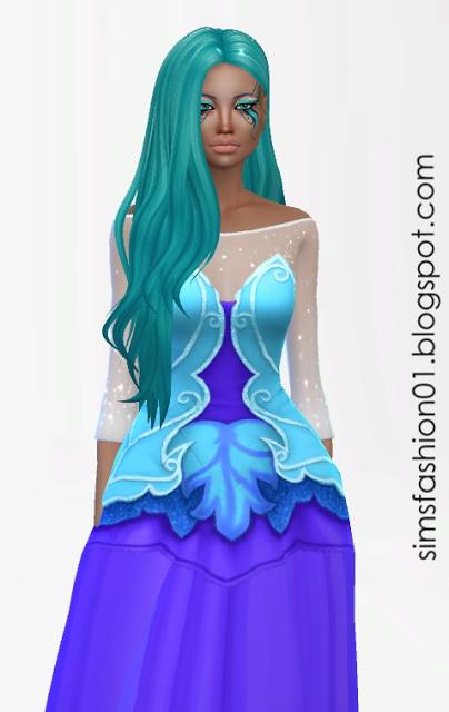 Fairy Dress At Sims Fashion01 » Sims 4 Updates