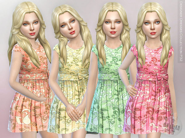 Sims 4 Designer Dresses Collection P32 by lillka at TSR