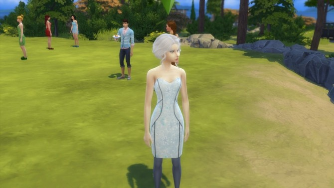Periwinkle Frost Dress by Doctor Who 1987 at Mod The Sims image 2110 670x377 Sims 4 Updates