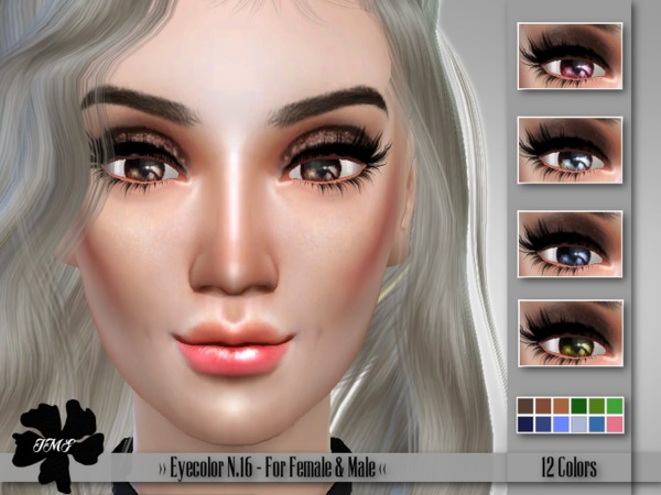 Sims 4 IMF Eyecolor N.16 F/M by IzzieMcFire at TSR