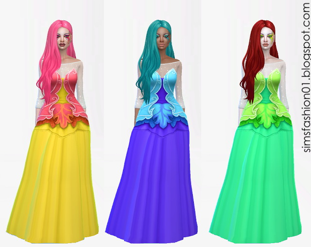 Fairy Dress at Sims Fashion01 image 2115 Sims 4 Updates