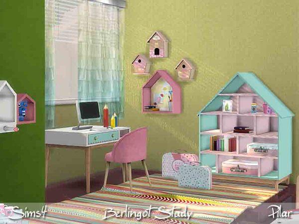Sims 4 Berlingot Study by Pilar at TSR