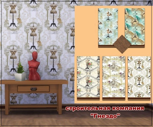 Clothing 1 wallpaper at Sims by Mulena image 2141 Sims 4 Updates