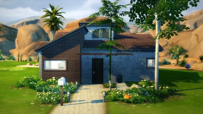 Sims 4 Pascal house at Fezet's Corporation