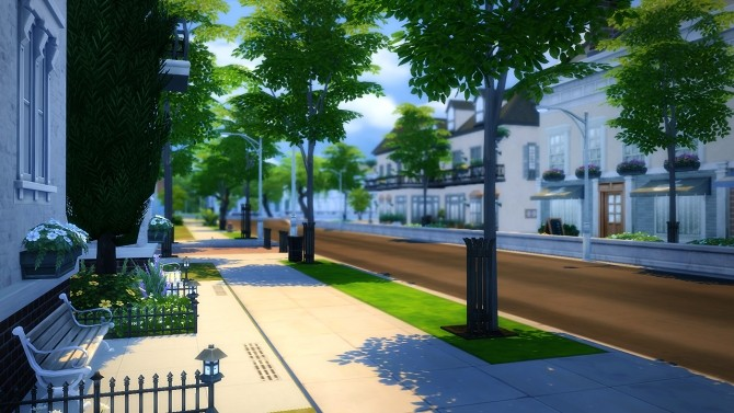 Sims 4 Colombes house at Fezet's Corporation