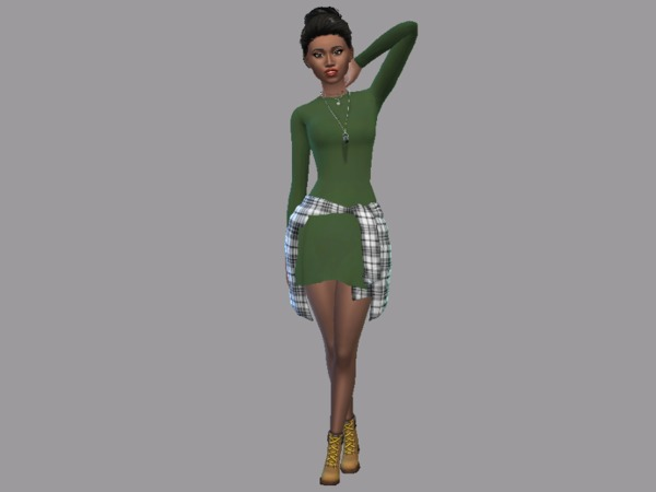 GRANDE Dress by Christopher067 at TSR image 2412 Sims 4 Updates