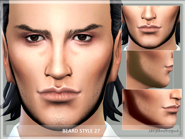 Beard Style 27 by Serpentrogue at TSR image 2417 Sims 4 Updates