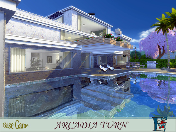 Sims 4 Arcadia Turn by evi at TSR