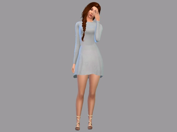 GRANDE Dress by Christopher067 at TSR image 2513 Sims 4 Updates