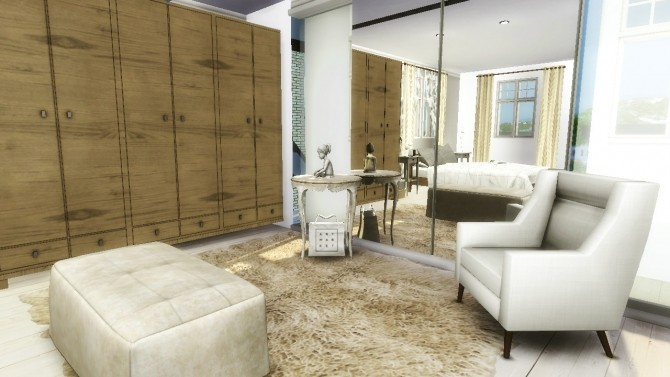 Sims 4 19 Devonshire Street house at Sims4 Luxury
