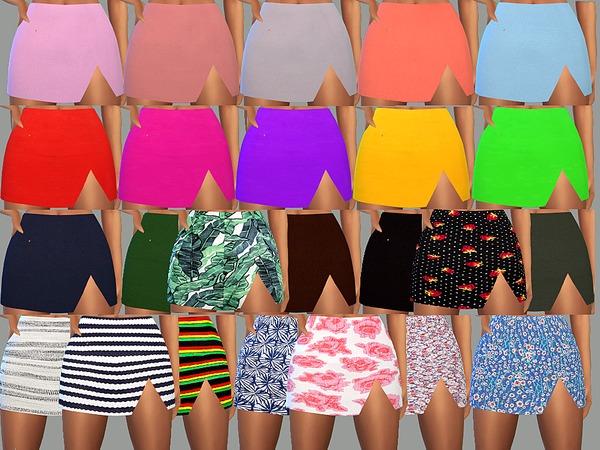 Sims 4 Alecia Skirt by NataliMayhem at TSR