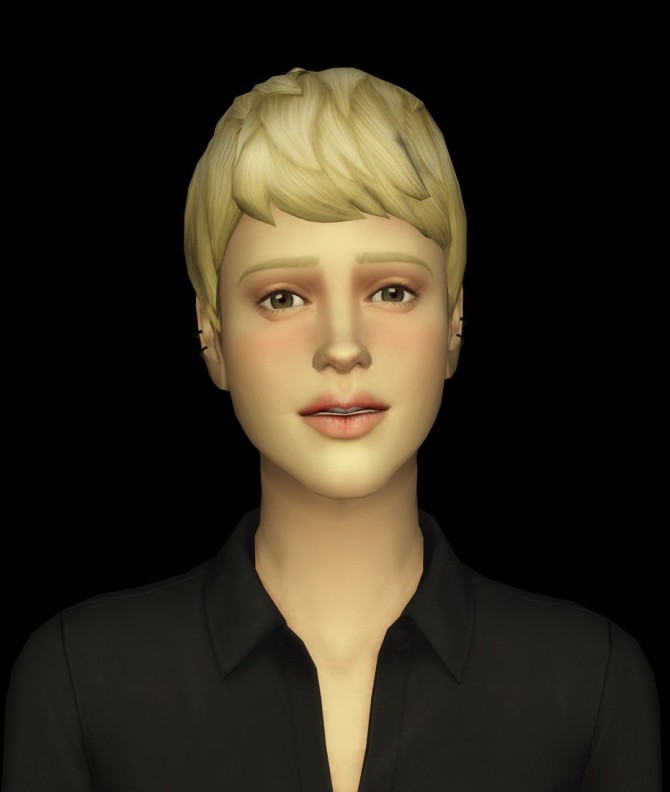 Beatle Boys Hair V1 for females at Rusty Nail image 2584 670x792 Sims 4 Updates