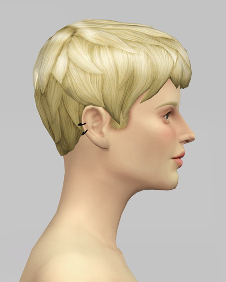 Beatle Boys Hair V1 for females at Rusty Nail image 26112 Sims 4 Updates