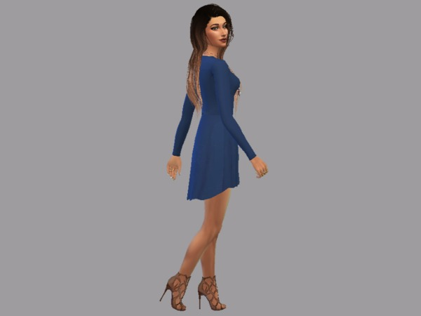 GRANDE Dress by Christopher067 at TSR image 2613 Sims 4 Updates