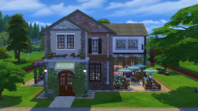 Sims 4 The Herveaux Winery at Jool's Simming