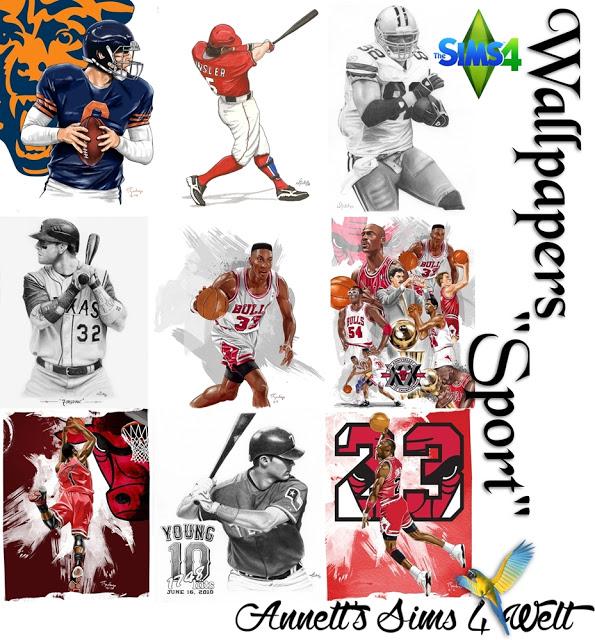 Sims 4 Sport wallpapers at Annett's Sims 4 Welt