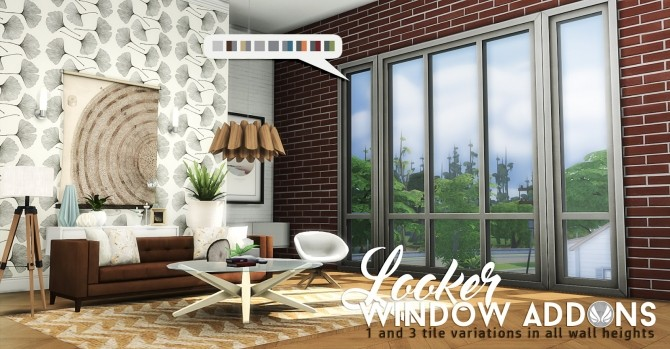 Sims 4 Looker Window Addons at Simsational Designs