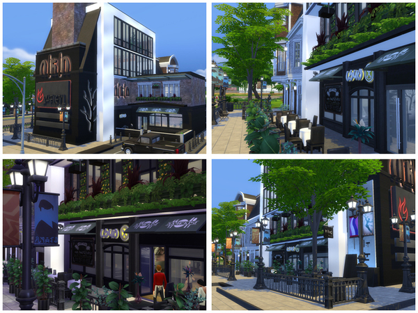 Nocturne restaurant by Danuta720 at TSR image 2720 Sims 4 Updates
