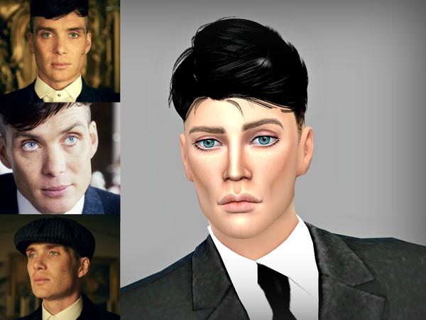 Sims 4 Cillian Murphy by Softspoken at TSR