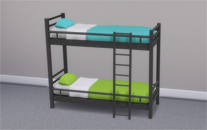 Hipster Loft Bunk Bed & Mattresses for Bunk Beds at Veranka image 2823 670x420 Sims 4 Updates