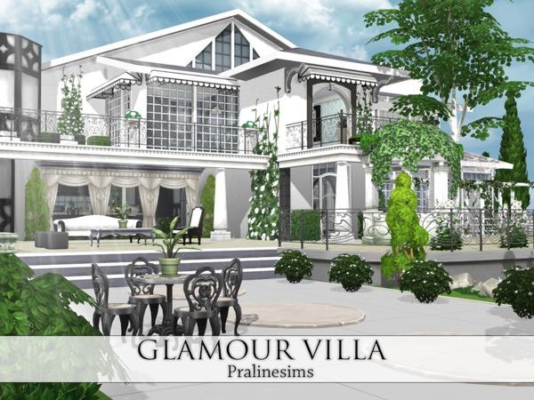 Glamour Villa By Pralinesims At Tsr  U00bb Sims 4 Updates