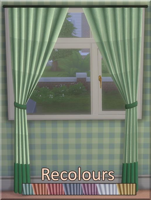 Basic Cotton Curtains at SimLifeCC image 2844 Sims 4 Updates