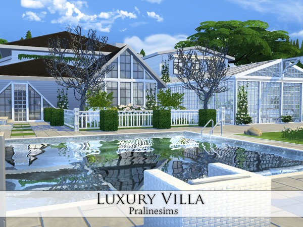 Luxury Villa by Pralinesims at TSR image 29 Sims 4 Updates