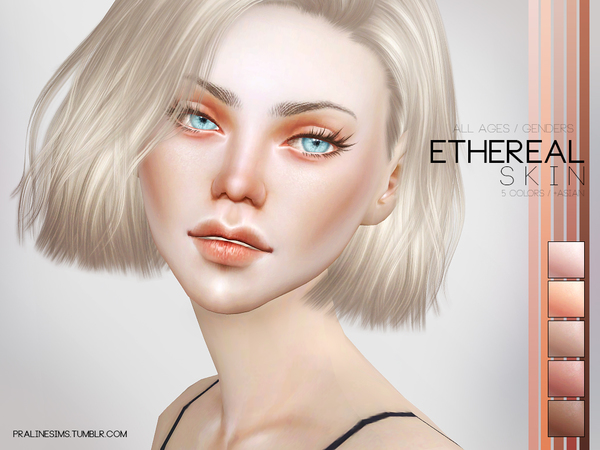 Ethereal Skin by Pralinesims at TSR image 2918 Sims 4 Updates