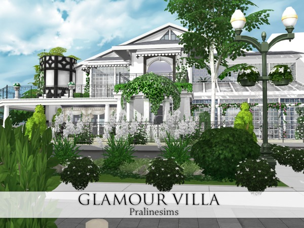 Glamour Villa by Pralinesims at TSR image 292 Sims 4 Updates