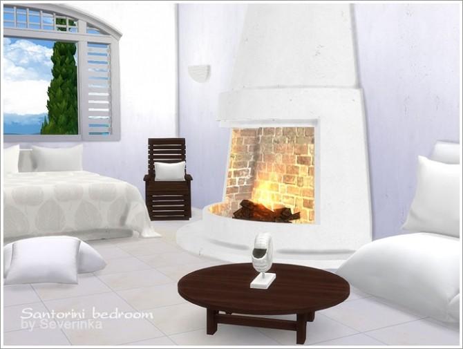 Santorini bedroom at Sims by Severinka image 2920 670x505 Sims 4 Updates