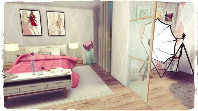 Youtuber Bedroom At Dinha Gamer 187 Sims 4 Updates