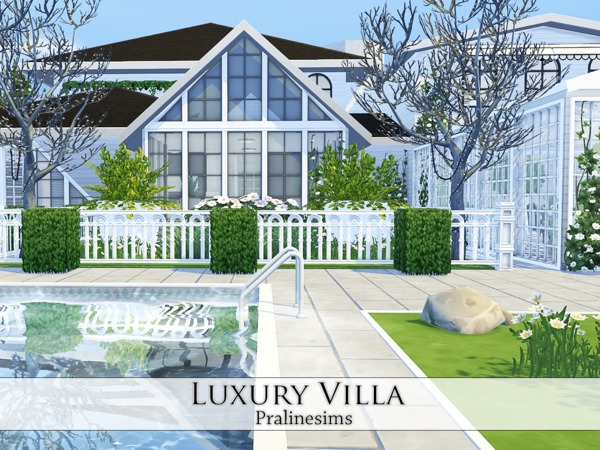 Luxury Villa by Pralinesims at TSR image 30 Sims 4 Updates