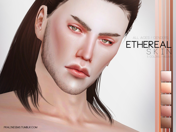 Ethereal Skin by Pralinesims at TSR image 3019 Sims 4 Updates