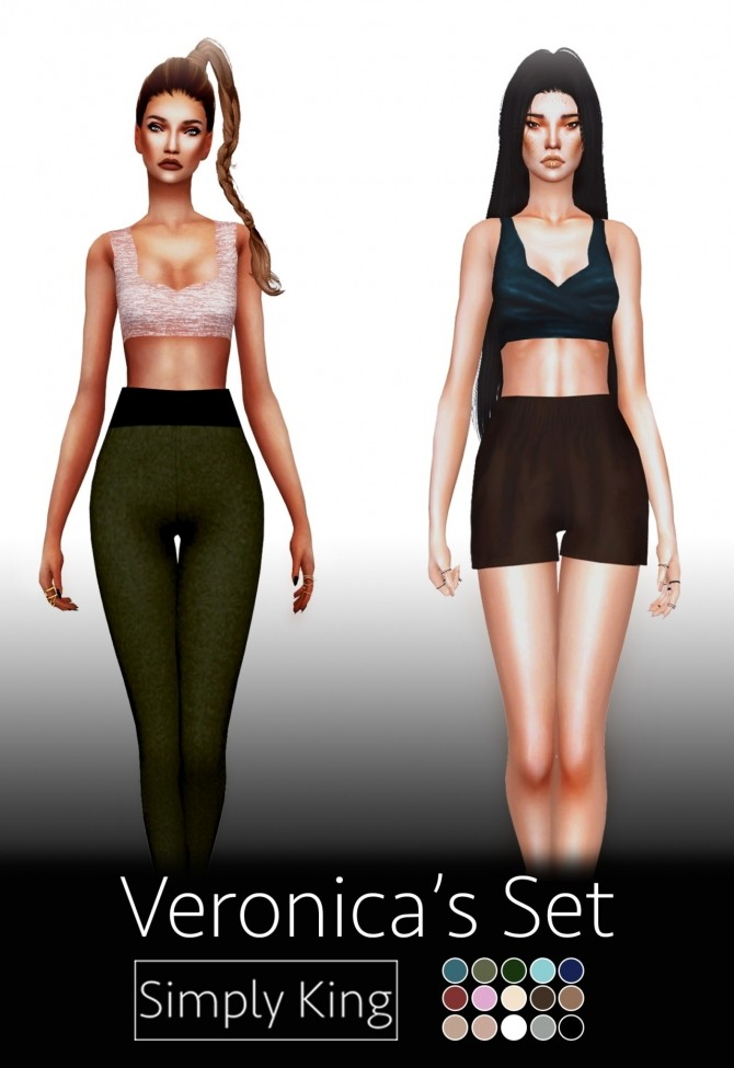 Veronica's Set at Simply King image 3052 670x975 Sims 4 Updates