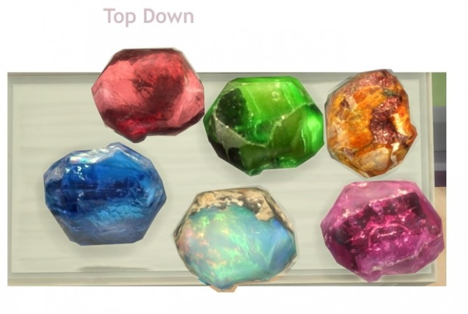 Mixed Large Raw Gemstones at Sims 4 Studio image 3081 670x450 Sims 4 Updates