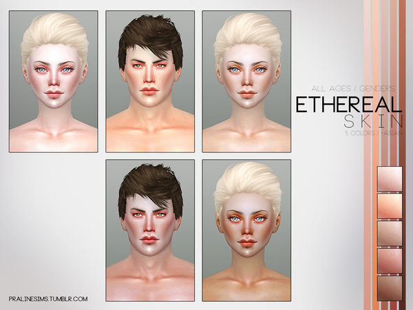 Ethereal Skin by Pralinesims at TSR image 3119 Sims 4 Updates