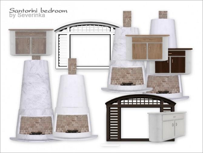 Santorini bedroom at Sims by Severinka image 3123 670x505 Sims 4 Updates