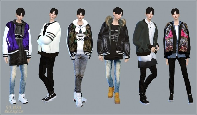 Sims 4 Male Acc Blouson at Marigold