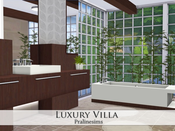 Luxury Villa by Pralinesims at TSR image 32 Sims 4 Updates