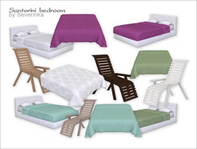 Santorini bedroom at Sims by Severinka image 3220 670x505 Sims 4 Updates