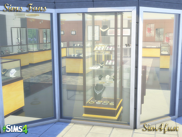 Sims 4 Jewelry Store at Sims Fans
