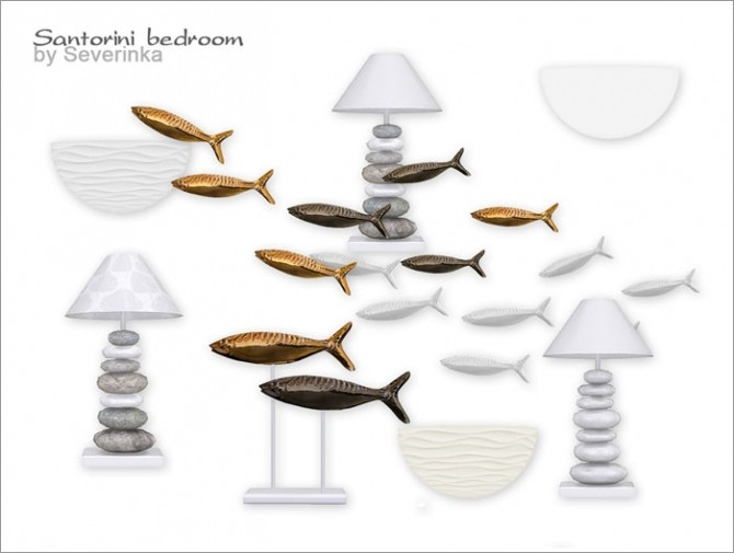 Santorini bedroom at Sims by Severinka image 3319 670x505 Sims 4 Updates