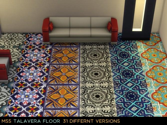 Sims 4 Talavera Floor 2 by midnightskysims at SimsWorkshop