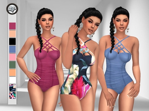 Sims 4 MP Criss Cross Swimsuit at BTB Sims – MartyP